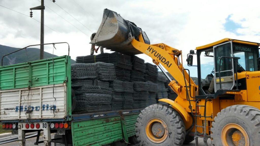Proyecto Tren Jujuy - La Quiaca: nuevo material de obra fue recibido